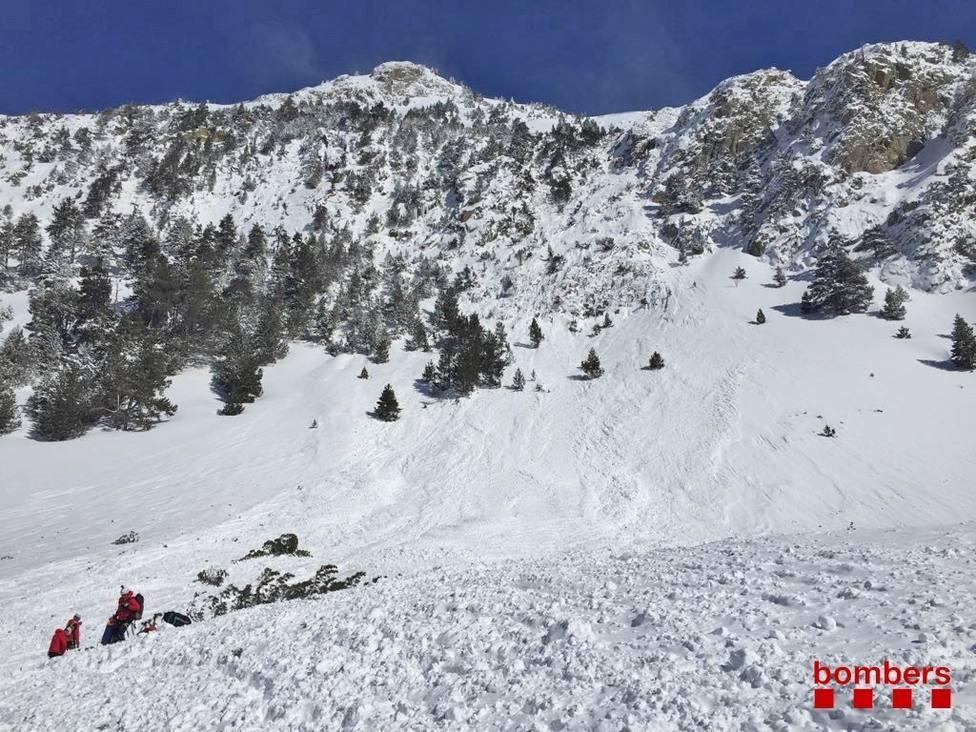 Alud en el Val dAran en el que fallecieron dos guías por lo que investigan a la presidenta del CSIC