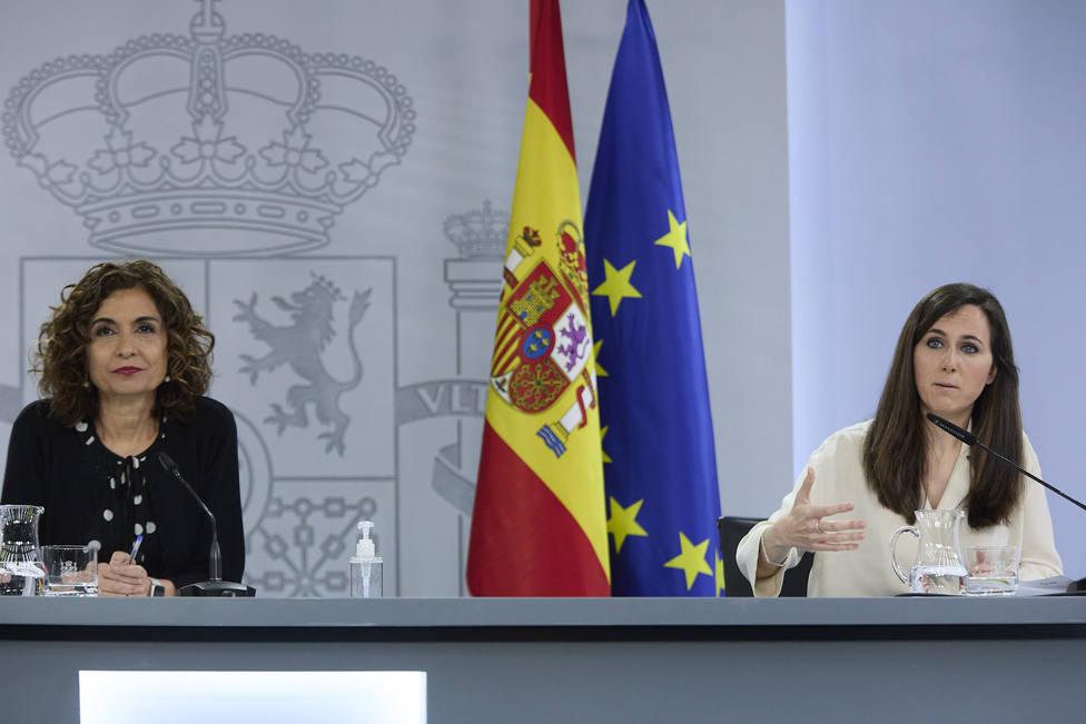 María Jesús Montero y Ione Belarra