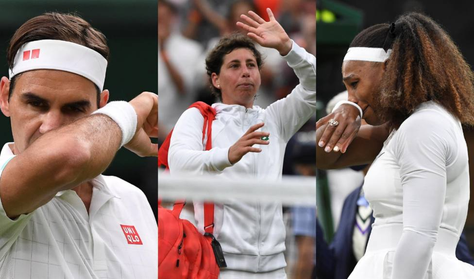 Carla Suárez se despide de Wimbledon, Federer pasa por retirada de Mannarino y Serena abandona por lesión