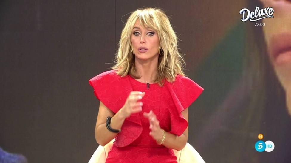 Emma García mete la pata en pleno directo por su queja a Viva la vida cuando creía que estaba en publicidad