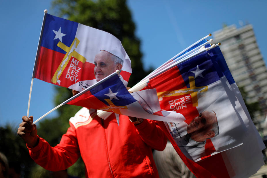 Chile espera la llegada del Papa