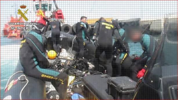 Equipo de rescate de la Guardia Civil