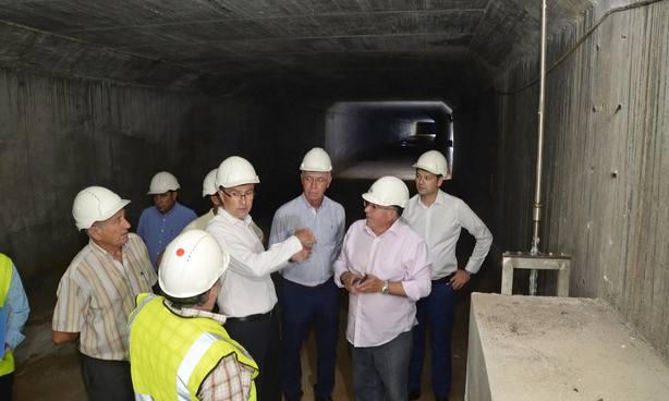 El Ayuntamiento ejecuta obras para paliar las inundaciones por lluvia en Espinardo,Puntal y Norte de la ciudad