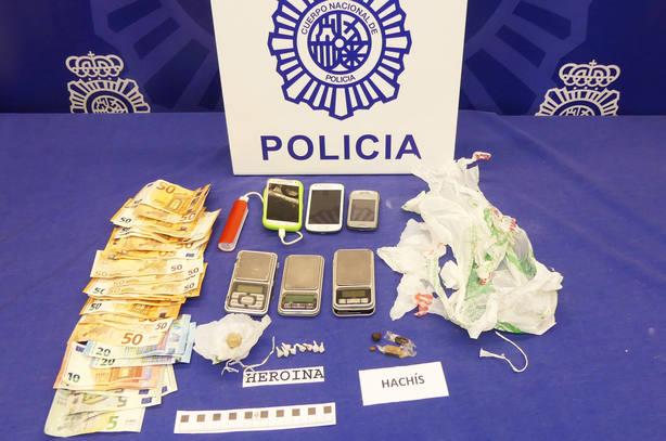 La Policía Nacional desactiva nueve puntos negros de venta de droga en Logroño