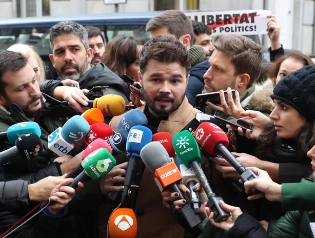 Dirigentes de ERC se concentrarán ante el TS para pedir libertad de Junqueras