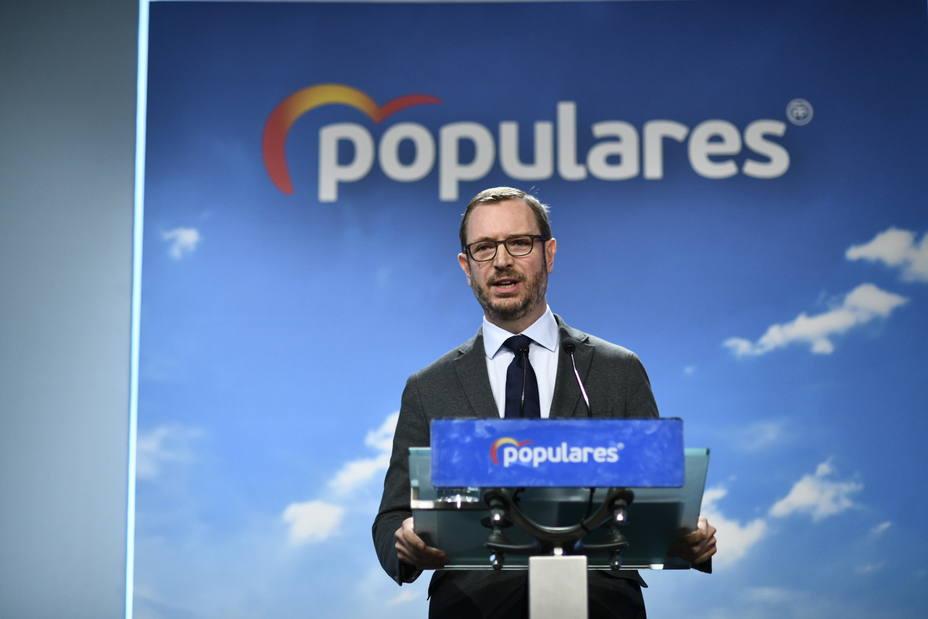 El PP acusa de traición a Sánchez por aceptar mediadores con Cataluña: Es una reacción indigna de un presidente