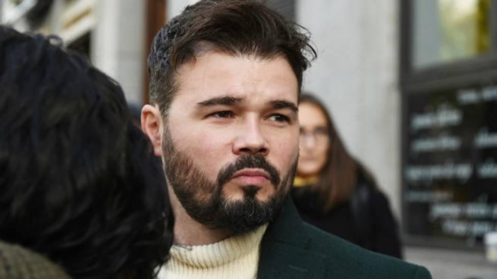 El enfado de Gabriel Rufián con Vox como protagonista