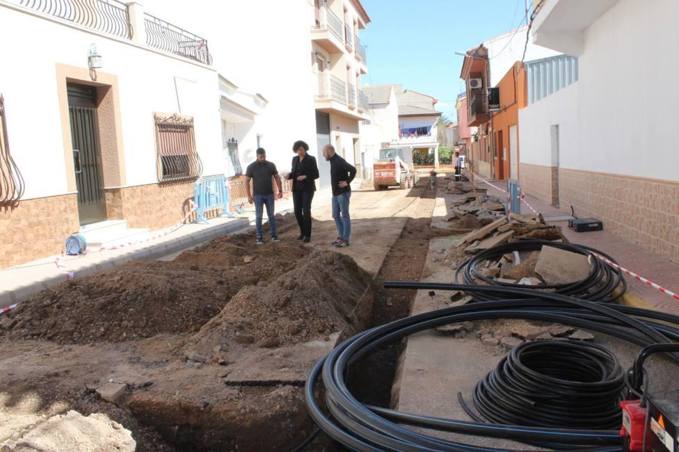 Comienzan las obras de mejora de la red de agua potable en Puerto Lumbreras