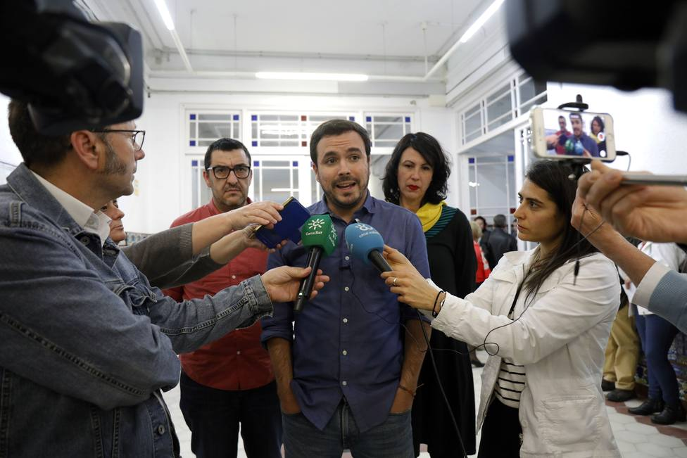 Garzón dice que Unidas Podemos garantiza conquistas sociales, que están amenazadas por derechas y titubeo de PSOE