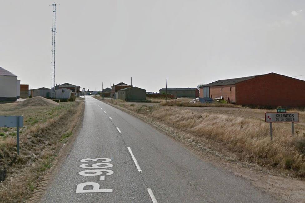 Carretera P963 Cervatos de la Cueza