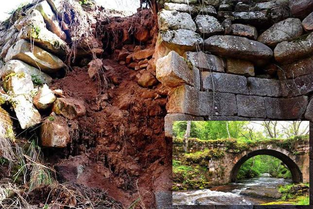 Puente románico de rojadillo
