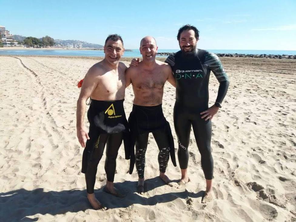 Vicente Barberá, Pablo Villalba y Alfredo Merchán