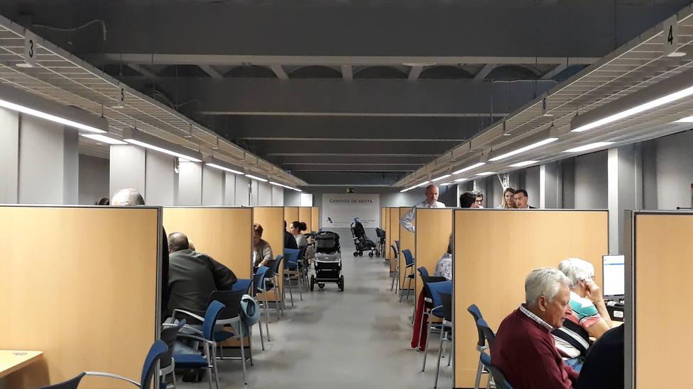 Dependencias de la AEAT en A Coruña