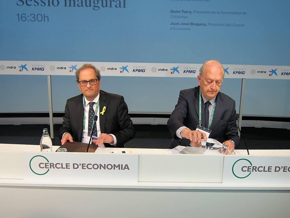 Sánchez y Torra participarán en la XXXV Reunión del Círculo de Economía en Sitges