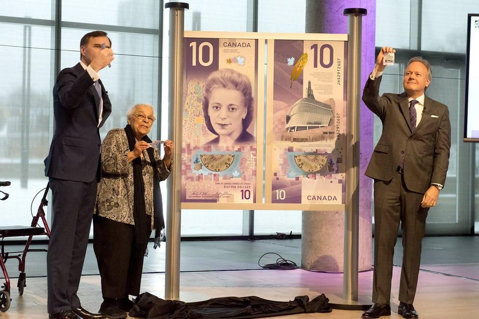 Canadá emitió el mejor billete de 2018