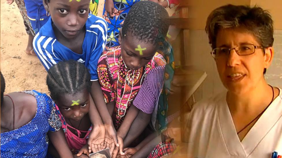Mari Luz lleva desde hace 10 años en Costa de Marfil como misionera carmelita