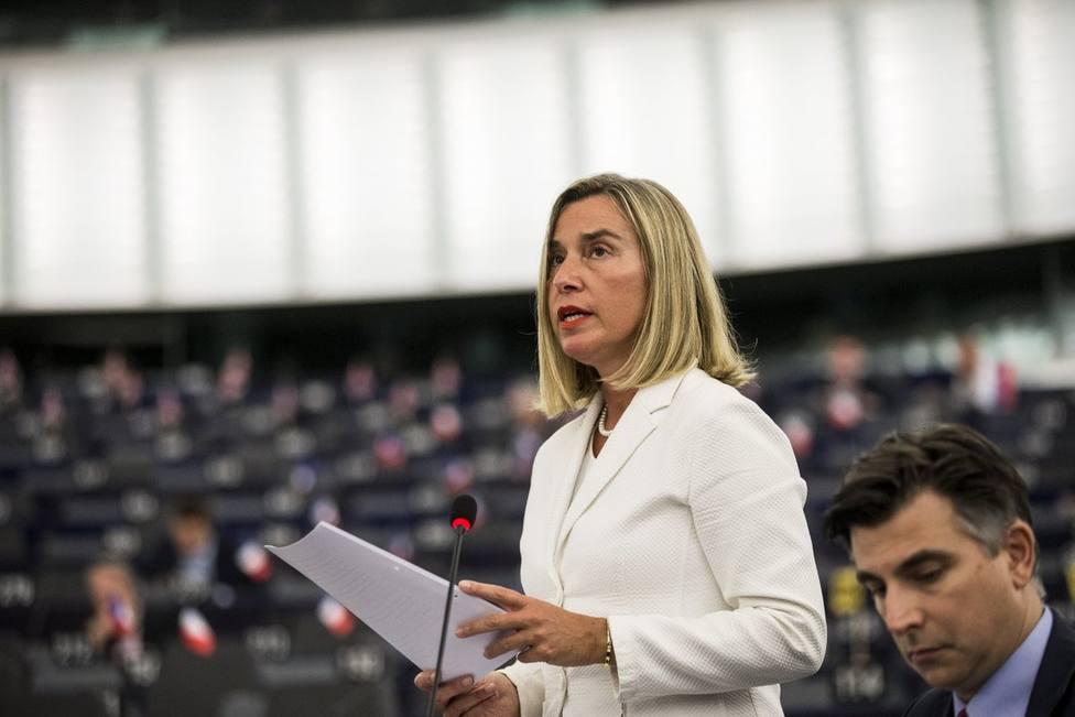 La Unión Europea exige a Irán la liberación del petrolero Stena Impero