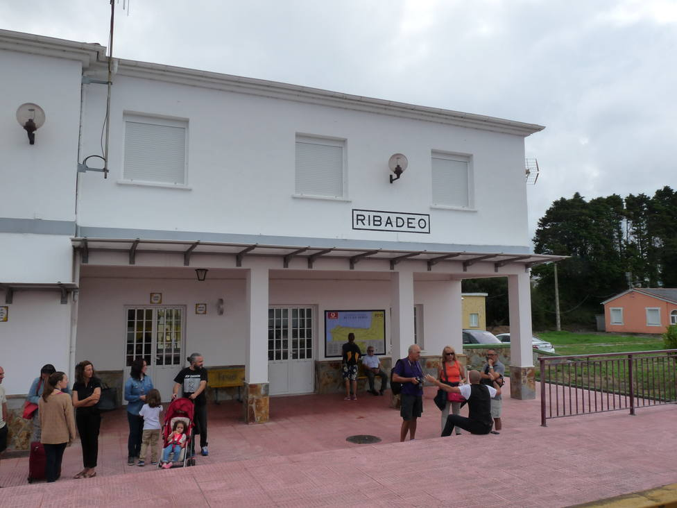 Estación de FEVE en Ribadeo