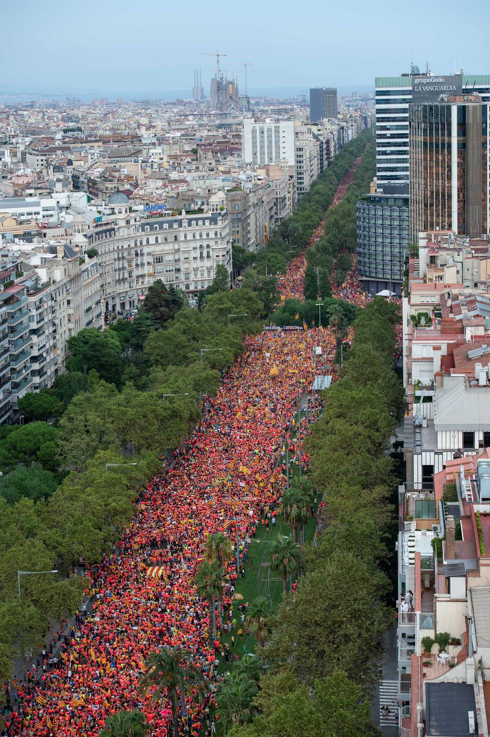 Los independentistas presos y en el extranjero piden una Diada con clamor de persistencia