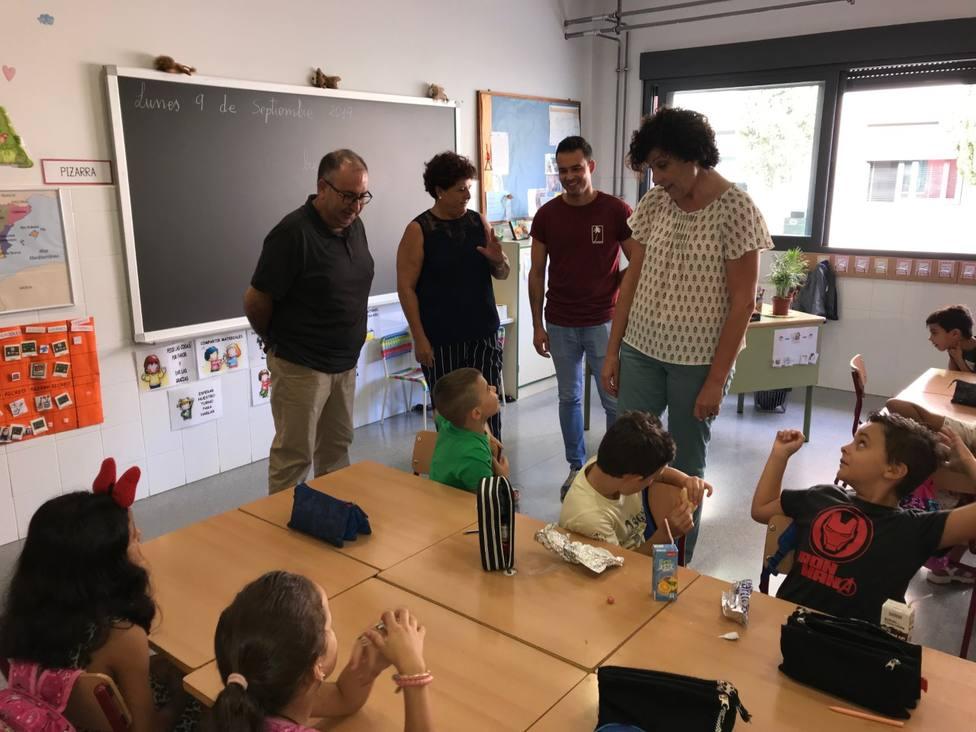 El curso escolar arranca en los colegios de Puerto Lumbreras con total normalidad y más ayudas