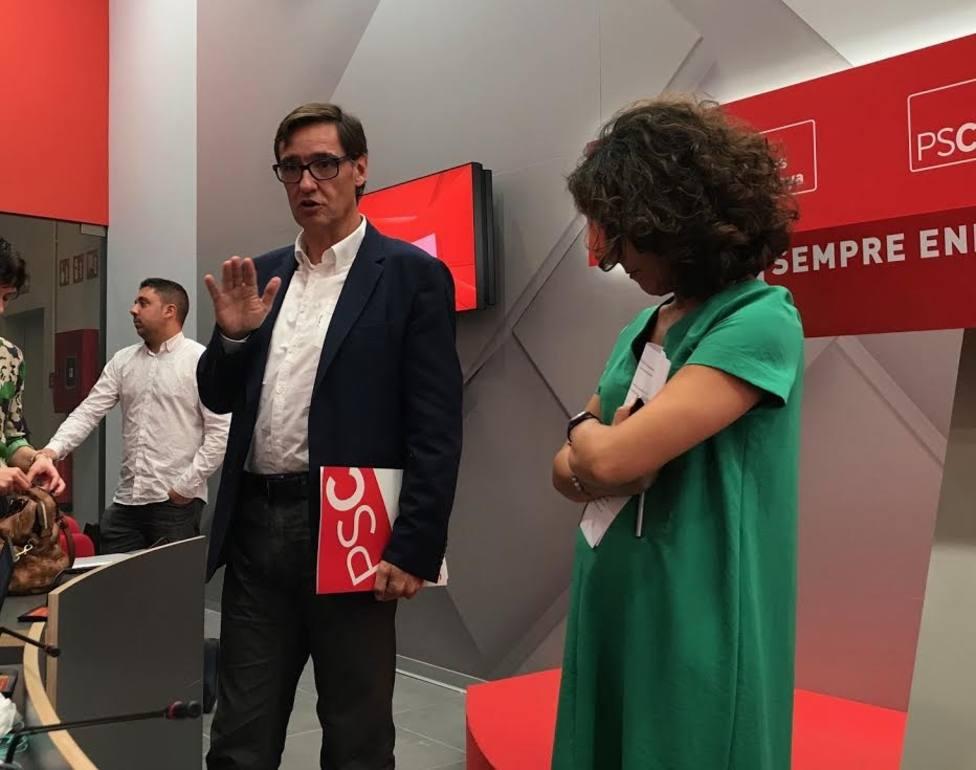 El PSC celebra que Marta Rovira reconozca que el 1-O careció de legitimidad interna