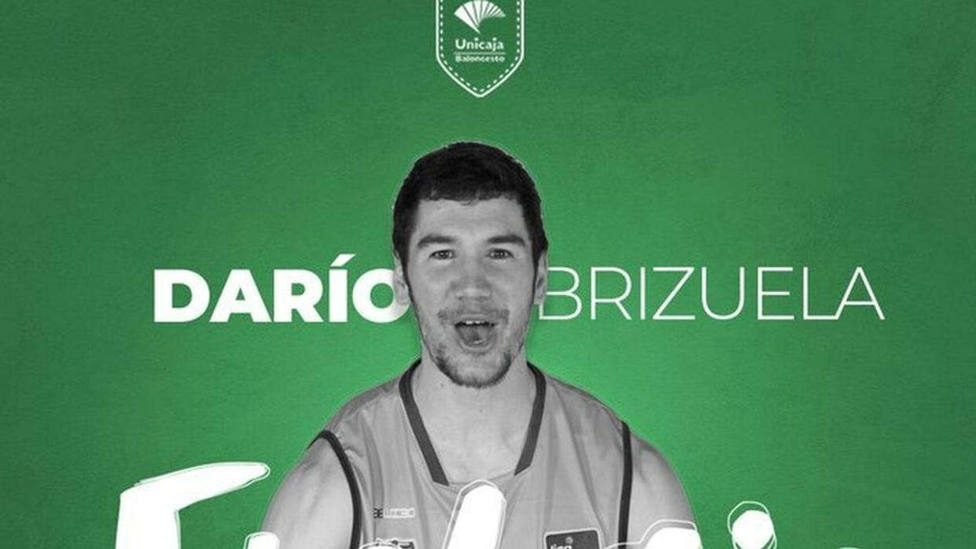 Anuncio oficial de Darío Brizuela como jugador de Unicaja
