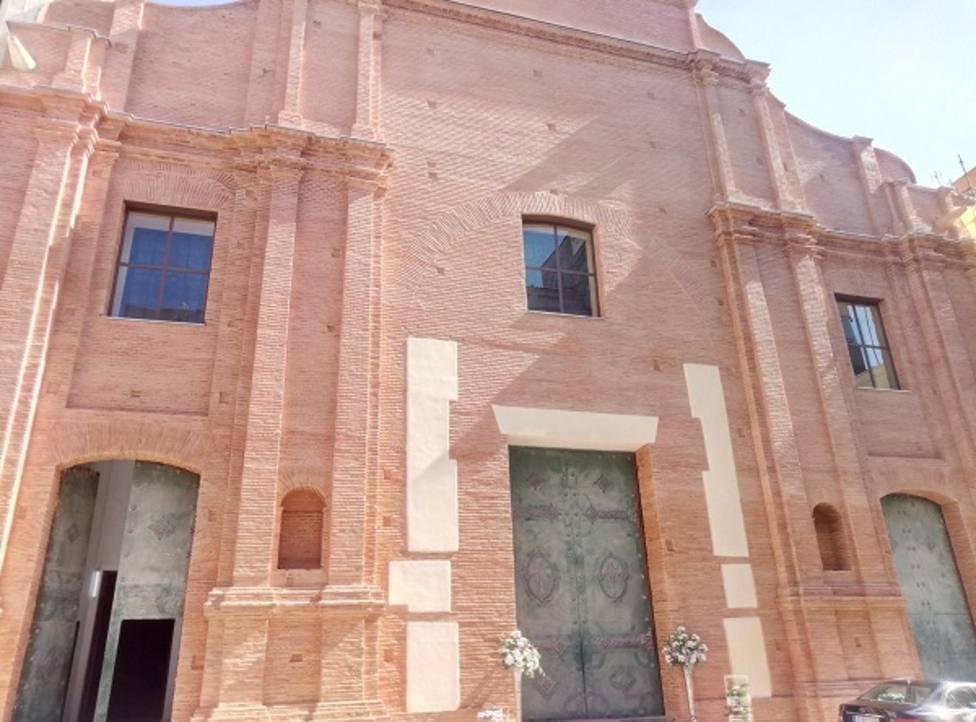 Los cuatro santos de Cartagena presidirán la fachada de la restaurada Santa María de Gracia