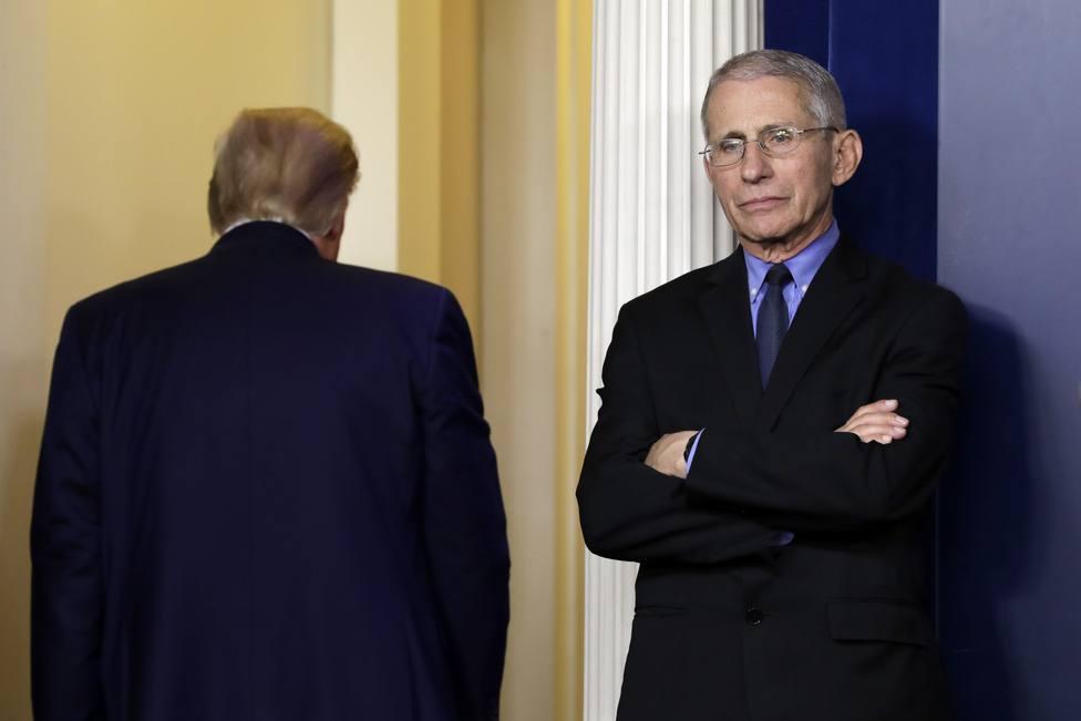 Donald Trump leads COVID-19 presser