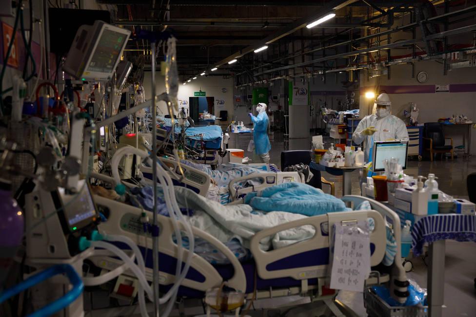 Foto de archivo de una zona de UCI en un centro hospitalario - FOTO: Europa Press / Ziv Koren