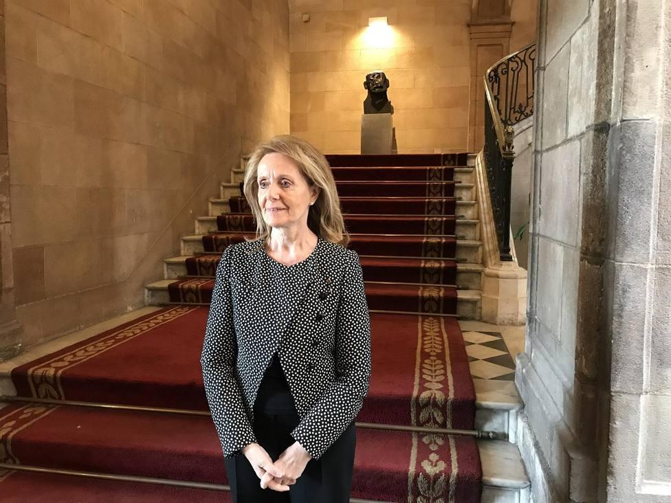 Mariàngela Vilallonga es la consejera de Cultura de la Generalitat