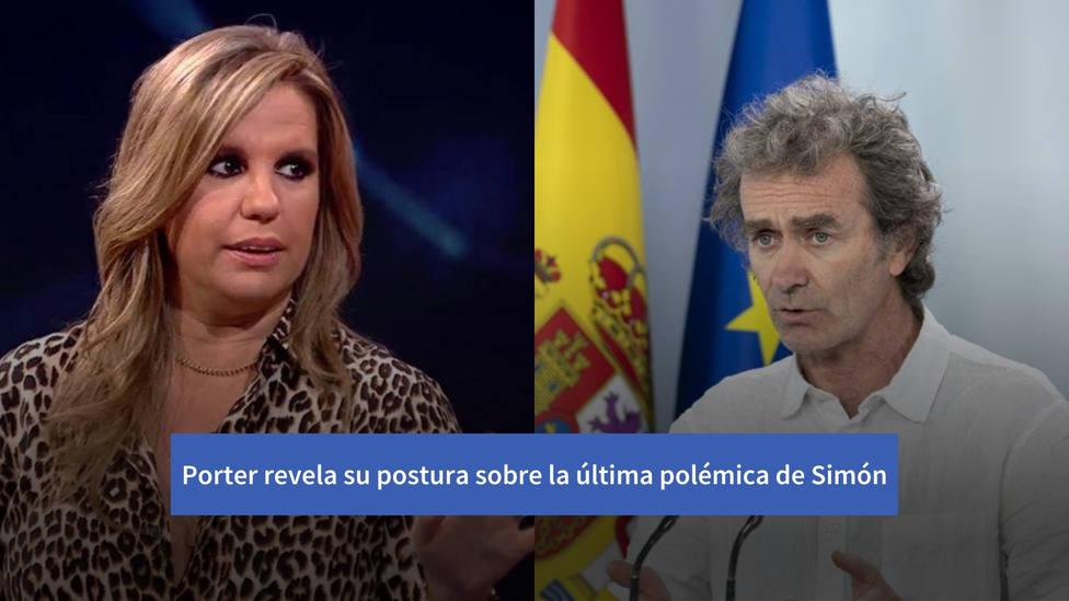 Carmen Porter revela su contundente postura sobre la última polémica de Simón