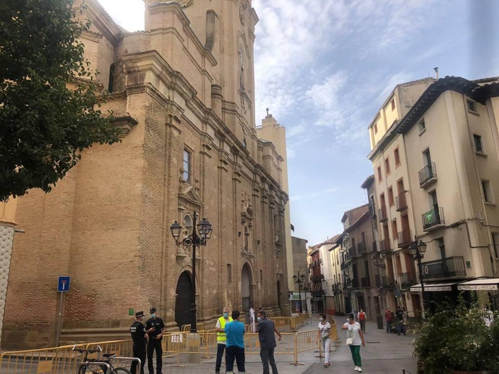 Accesos a la Basílica de San Lorenzo