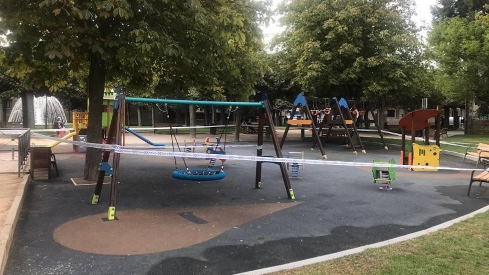 Guadarrama vuelve a cerrar sus parques infantiles