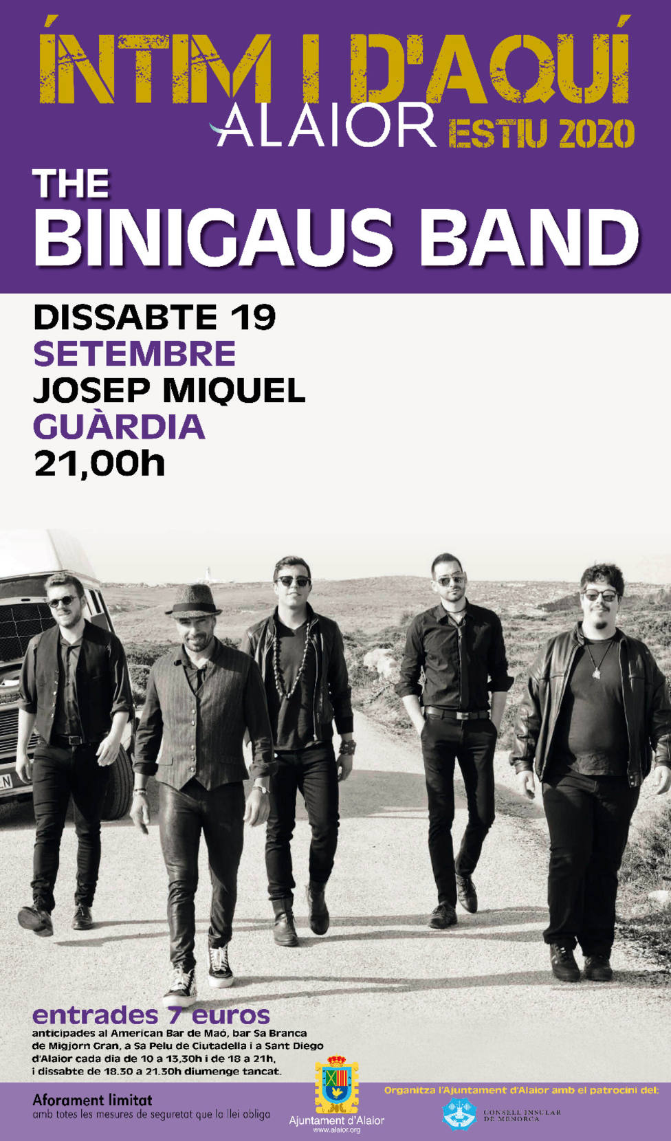 The Binigaus Band llega a Alaior