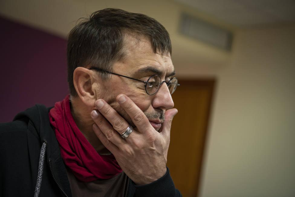 Monedero asegura que Ayuso busca romper Madrid en pedazos: Quiere hacer un apartheid