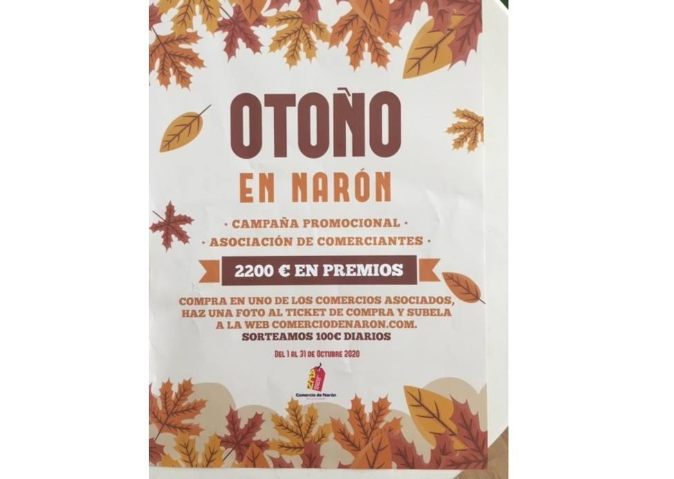 Cartel de la propuesa Outono en Narón - FOTO: Cedida