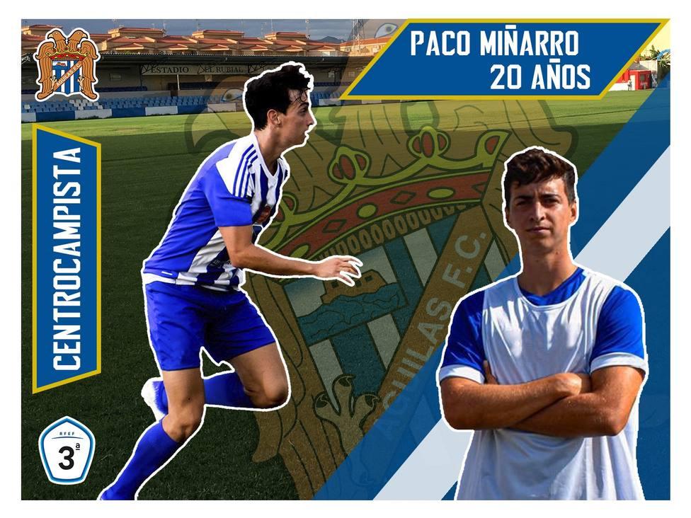 El Águilas FC ficha a Paco Miñarro