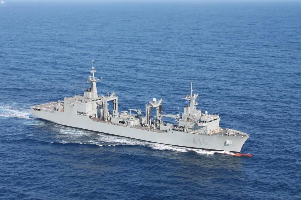 Foto de archivo del buque Cantabria - FOTO: Armada
