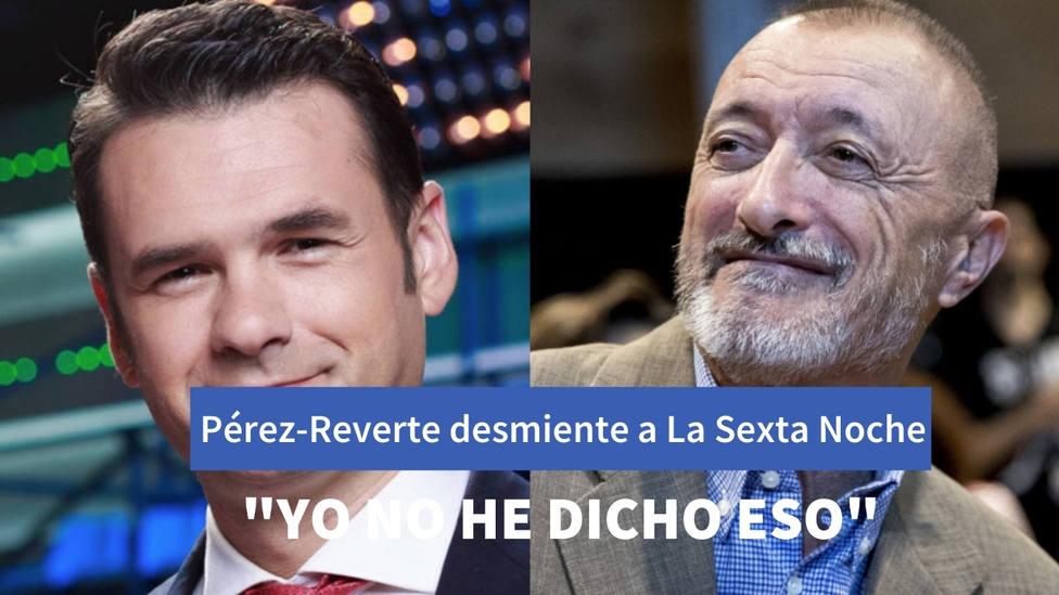 """Pérez-Reverte desmiente a 'La Sexta Noche' minutos antes de su entrevista: """"De eso no he dicho ni una palabra"""""""