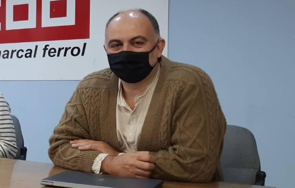 Emilio García Juanatey es el nuevo presidente del comité de empresa de Navantia Ferrol