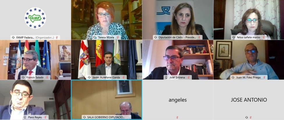 La Subcomisión de Diputaciones de la FAMP pide un encuentro urgente con Junta de Andalucía