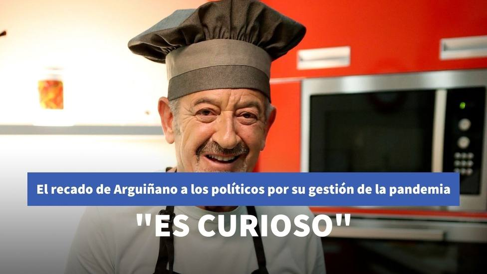 El recado de Karlos Arguiñano en Antena 3 sobre la gestión política ante el coronavirus
