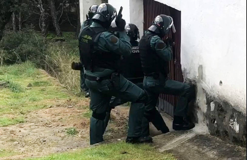 Operación Espino Verde, Guardia Civil Ávila