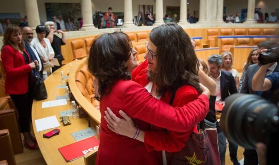 El Gobierno de La Rioja señala que el acuerdo con IU y Podemos lleva un ritmo de cumplimiento excelente