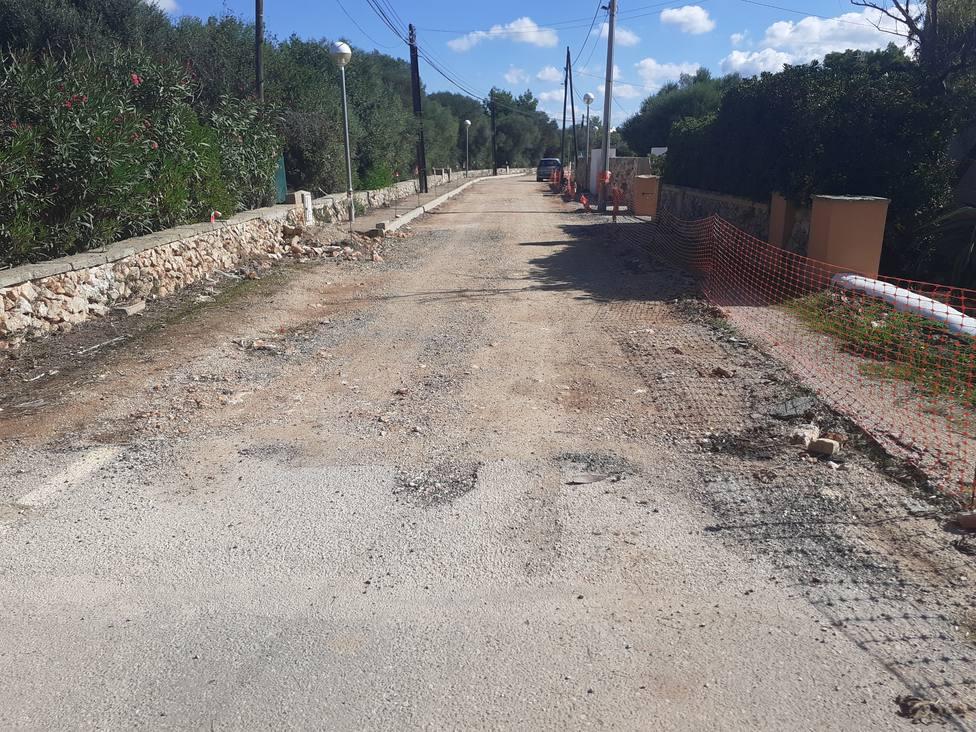 Las mejoras en la urbanización de Son Carrió se completan con las reformas en la calle Abellarol