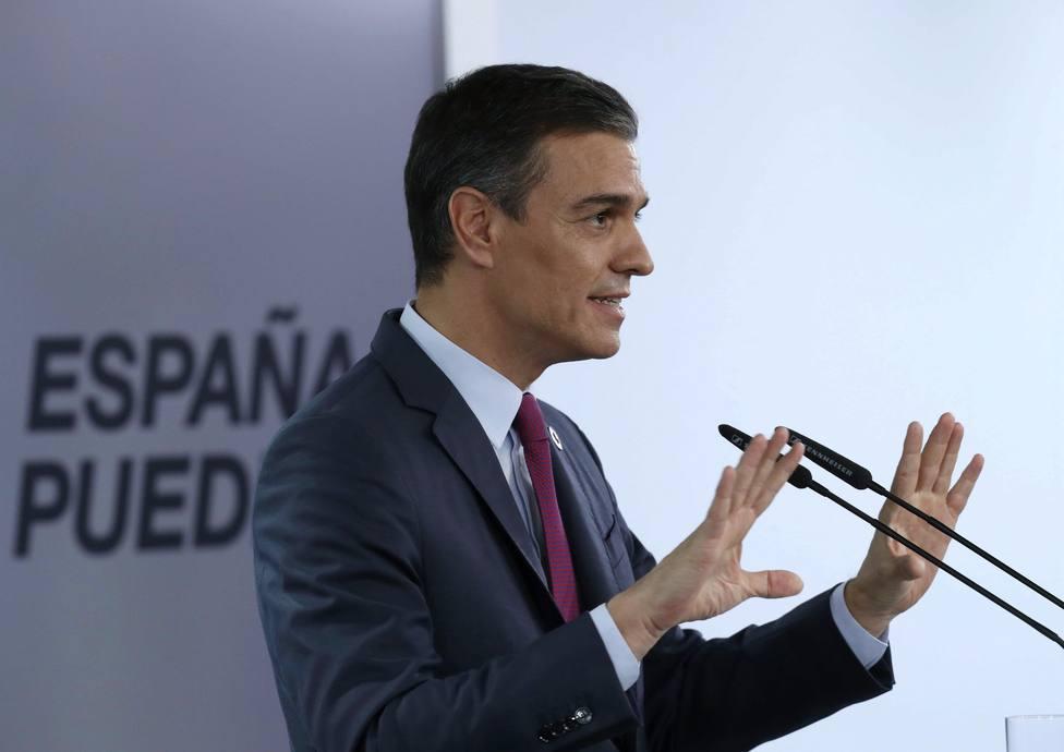 Sánchez no descarta ampliar la prohibición de los desahucios y confirma su confianza en Iglesias y Unidas Pode