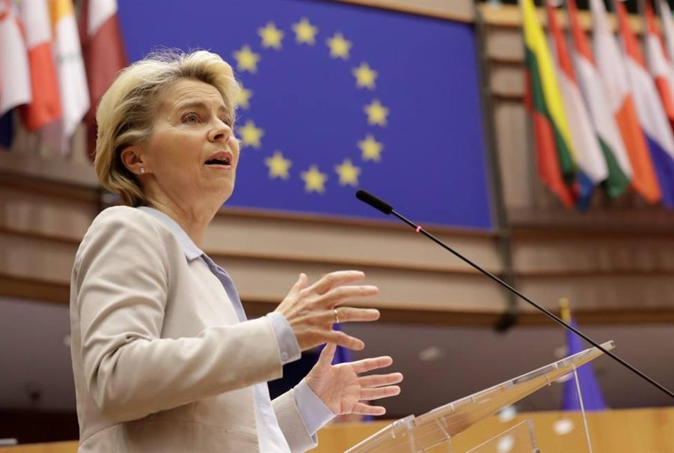 El nuevo intento de reforma migratoria en la UE se atasca nada más comenzar. Ursula Von der Leyen, Comisión
