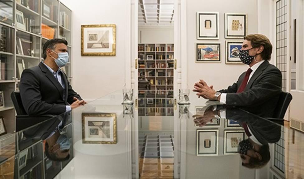 José María Aznar se reúne este lunes con Leopoldo López días antes de las elecciones venezolanas