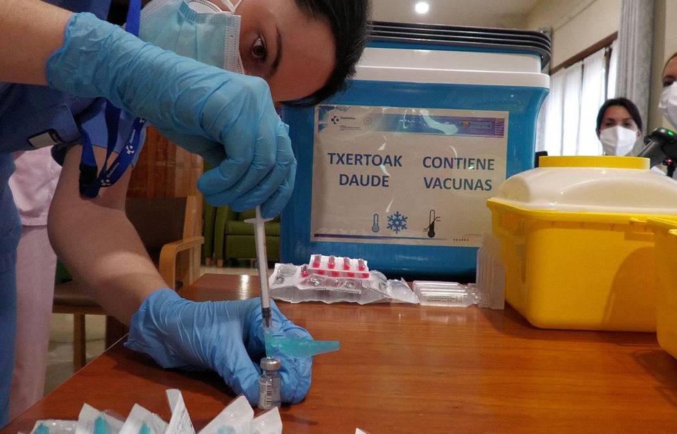 Vacunas contra el coronavirus en Euskadi