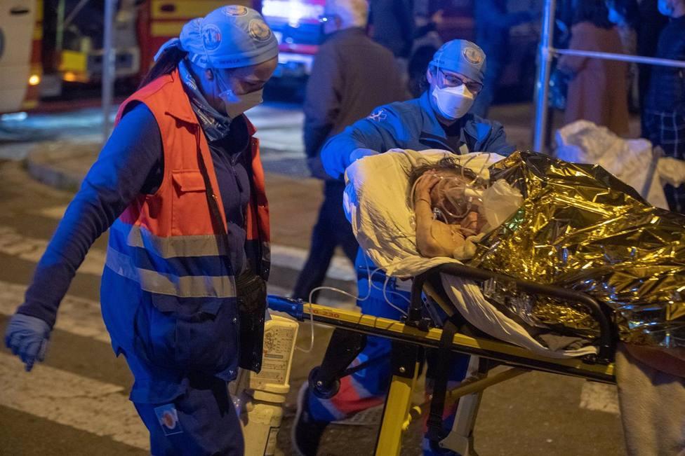 Se investigan las causas del grave incendio que causó la muerte a una anciana en una residencia de Sevilla